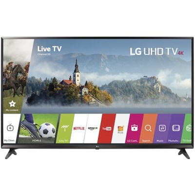 43UJ6300 - 43-inch UHD 4K HDR Smart LED TV (2017 Model) - OPEN BOX