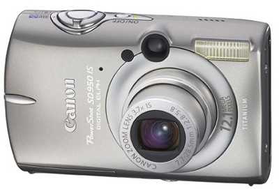 Powershot SD950 IS 12MP Digital ELPH Camera - REFURBISHED