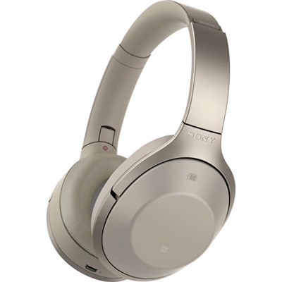 MDR-1000X/C Hi-Res Bluetooth Noise Cancelling Headphones Gray-Beige - OPEN BOX