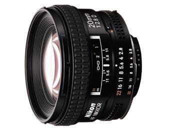 20mm F/2.8D AF Nikkor Lens - OPEN BOX