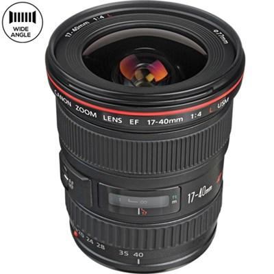 EF 17-40mm F/4 L USM Lens 8806A002 - Certified Refurbished
