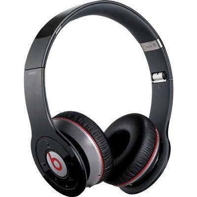 Wireless Bluetooth On-Ear Headphones (Black)