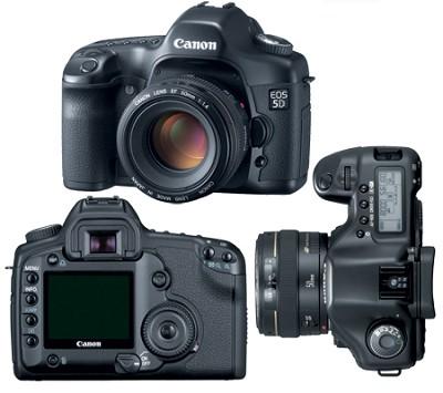 EOS 5D Digital SLR w/ 24-105 Lens + USA Warranty