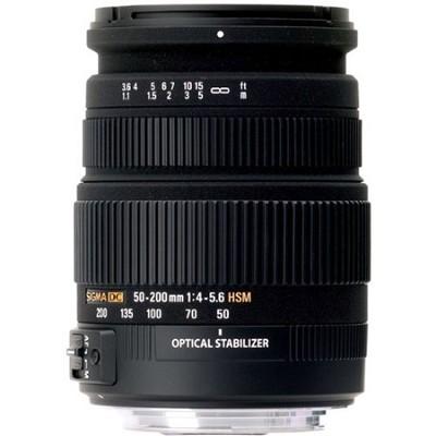 50-200mm F/4-5.6 DC HSM Sony Lens - OPEN BOX