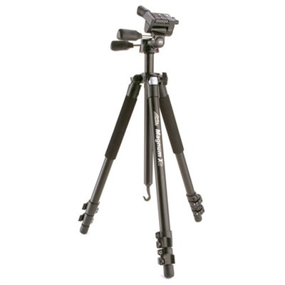 Magnum Grounder Tripod with X12 Head (Black) - ***AS IS***