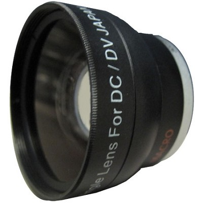 Professional .45X Wide Angle Lens w/ Macro - for 30mm threading