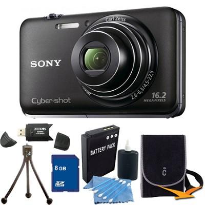 Cyber-shot DSC-WX9 Black Digital Camera 8GB Bundle