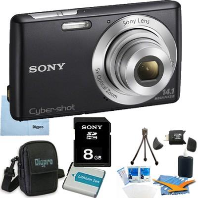 Cyber-shot DSC-W620 Black 8GB Digital Camera Bundle