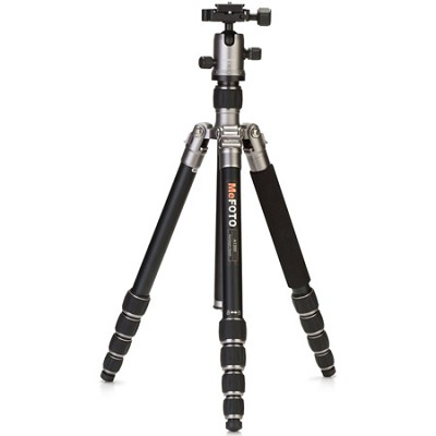 A1350Q1T Roadtrip Travel Tripod Kit - Titanium