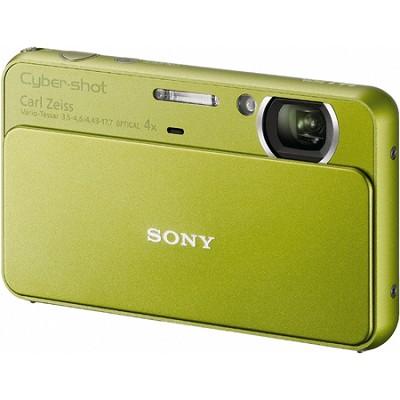 Cyber-shot DSC-T99 14MP Green Touchscreen Digital Camera - OPEN BOX