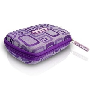 Samba Travel Case for JBuds & MP3 Player (Purple) 854291001983