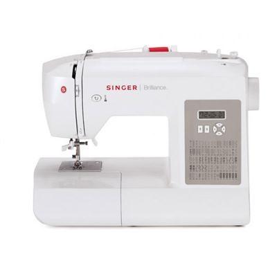 6180 Brilliance Sewing Machine in White/Gray - 230061112