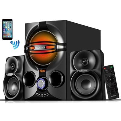 Wireless Bluetooth Audio Powerful Bass Speaker System BT-324F
