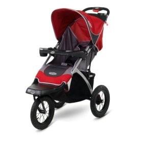 Swivel Wheel Strollers Suburban Safari (red/grey)