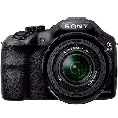 Alpha A3000 20.1MP Digital Camera with 18-55mm Lens