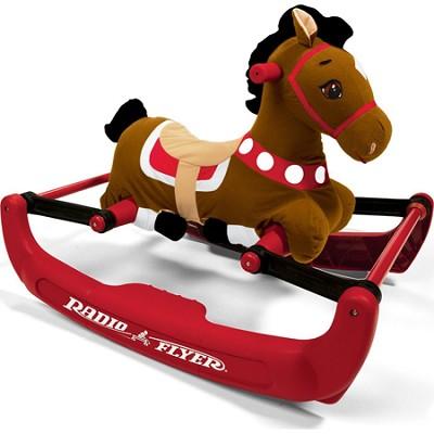 354 Soft Rock & Bounce Pony with Sound