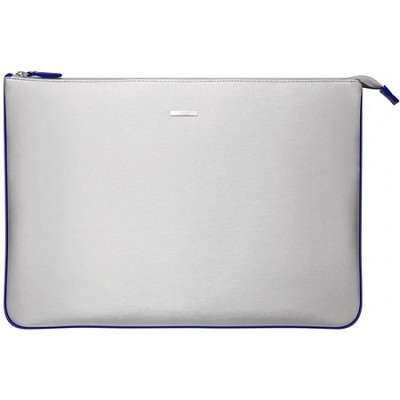 VGP-CPC1/L 15.5` Notebook Carrying Pouch - Silver, Blue Interior