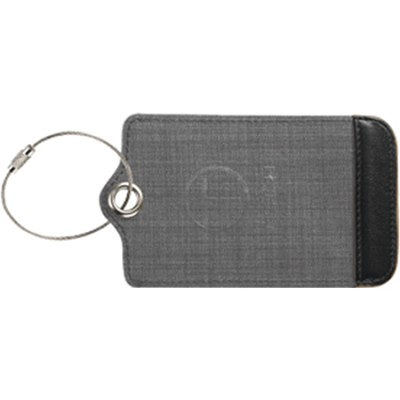 T-Tech Mesh Window Luggage Tag, Charcoal