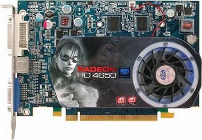 HD4650 PCIE 1GB DDR2 VGA DVI-I HDMI 128BIT