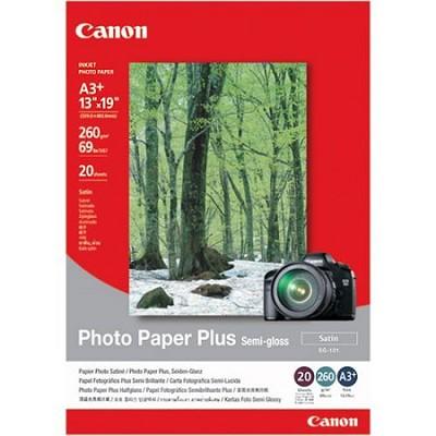 13x19in Semi Gloss Photo Paper Plus 20 Sheets-OPEN BOX