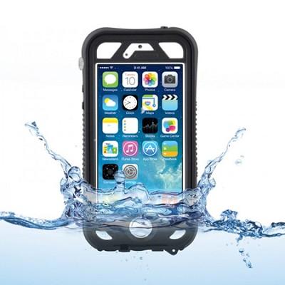 Vault Plus for iPhone 5/5s - Black (with Fingerprint Reader Access)