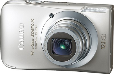 PowerShot SD970 IS Digital ELPH Digital camera - 12.1 Megapixel - 5x, 3 Inch LCD