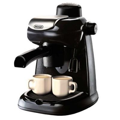 EC5 Steam-Driven 4-Cup Espresso and Cappuccino Maker - Black