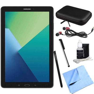 Galaxy Tab A 10.1 Tablet PC Black w/ S Pen, WiFi & Bluetooth w/ Accessory Bundle