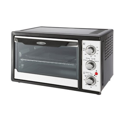 6 Slice Toaster Oven -With Convection- Black