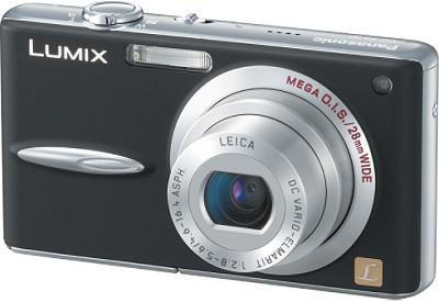 DMC-FX30K Lumix 7.2 mega-pixel Digital Camera (Black)