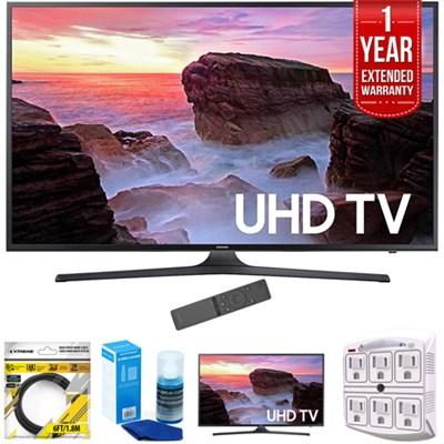 74.5-Inch 4K Ultra HD Smart LED TV 2017 Model with Warranty Bundle