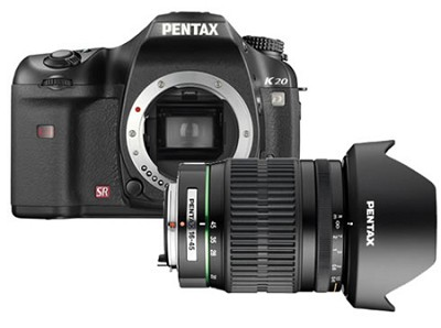 K20D Digital SLR Camera with 16-45mm Lens with Free Case & Warranty