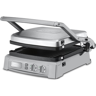GR-150 Griddler Deluxe - Brushed Stainless