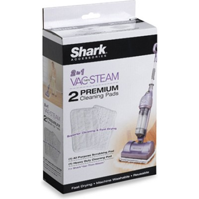 Vac-Then-Steam Mop Replacement Pads, 2-Pack