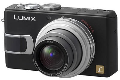 DMC-LX1K (Black) 8.4 MP Digital Camera with 4x Optical Zoom