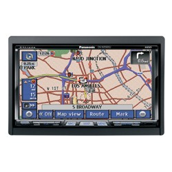 Strada In-Dash Mobile Navigation System with 7` Widescreen Color LCD Monitor/DVD