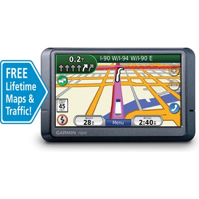 Nuvi 465LMT Widescreen Truck Navigator w/ Lane Assist, Lifetime Maps & Traffic