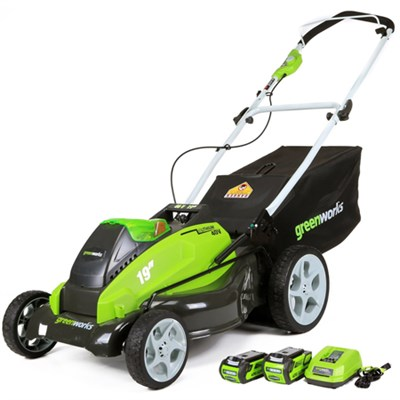 G-MAX 40V Lithium-ion 19-inch Cordless Lawn Mower (25223)