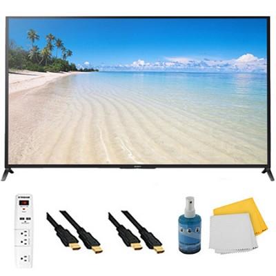 60` 1080p 120Hz Smart 3D LED HDTV Plus Hook-Up Bundle - KDL60W850B