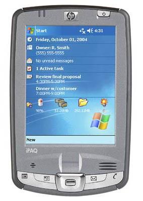 iPAQ hx2755 Pocket PC