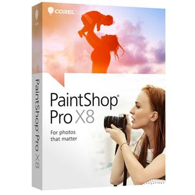 Corel PaintShop Pro X8 (Not for Resale)