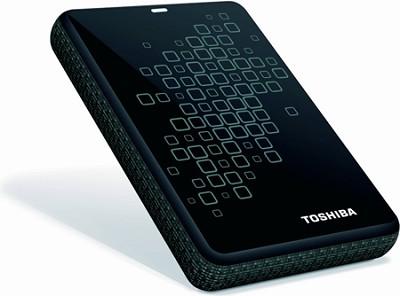 Canvio 3.0 Plus 1TB Portable Hard Drive in Black with Silver Accents
