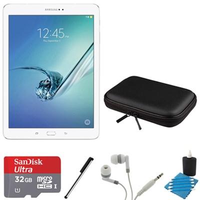 Galaxy Tab S2 9.7-inch Wi-Fi Tablet (White/32GB) 32GB MicroSDHC Card Bundle