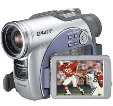 VDR-M53 DIGA DVD Palmcorder MultiCam Camcorder with 24x Optical Zoom