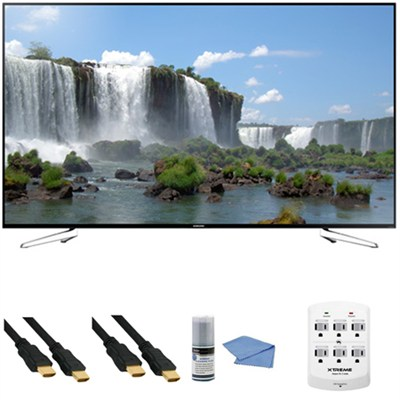 UN75J6300A - 75-Inch Full HD 1080p 120hz Slim Smart LED HDTV + Hookup Kit