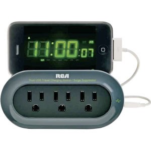 PCHSTAT1R Travel Charger with Surge Protection