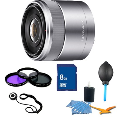 30mm f/3.5 Macro E-Mount Lens Essentials Kit