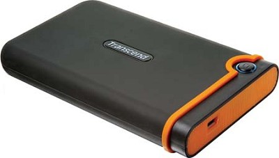 500GB USB 2.0 Store Jet 25 Portable External Hard Drive (TS500GSJ25M)