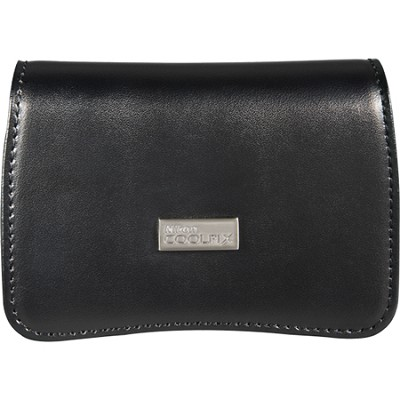 Coolpix P300/S9100 Black Leather Case