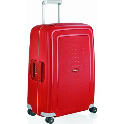 S'Cure 28` Spinner Luggage - Crimson Red